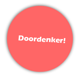 sticker-doordenker-oranje
